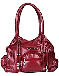 15135: Howdy Women Leather Handbags (Brown)