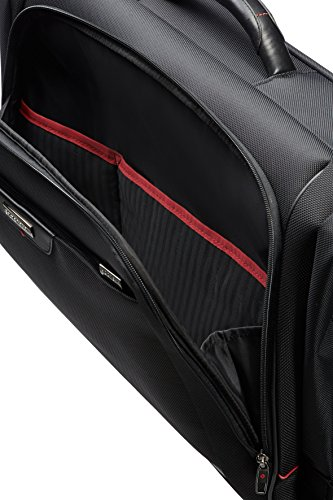 Samsonite Pro-Dlx 4 Tri-Fold Garment Bag Portatrajes, 42 cm, Color Negro