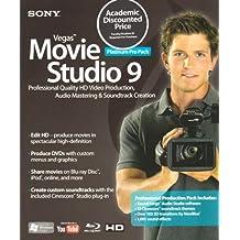 Sony Vegas Movie Studio 9 Pro Pack (Student / Teacher) (PC CD)