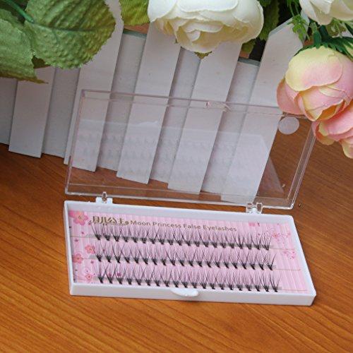 Schwarz Künstliche Wimpern Verlängerungen – 10mm, 10mm - 4