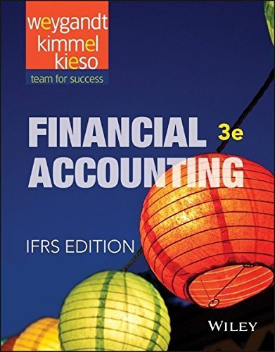 Financial Accounting: IFRS by Jerry J. Weygandt (2015-07-27)