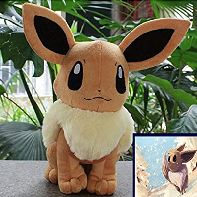 "2016 nuevo Pokemon Eevee juguete de felpa suave de 8.5 ""21.6cm stuffed Doll Cute Plush Doll de Xing"