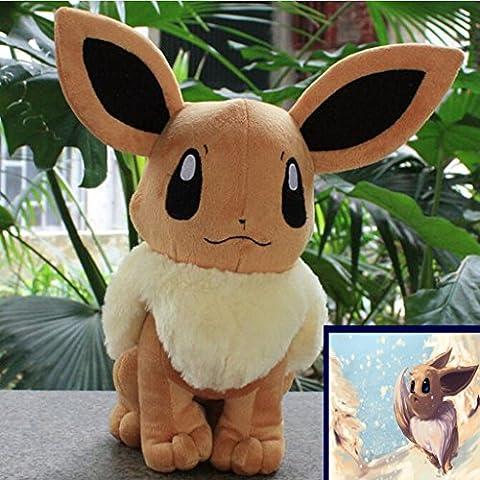 2016 nuevo Pokemon Eevee juguete de felpa suave de 8.5