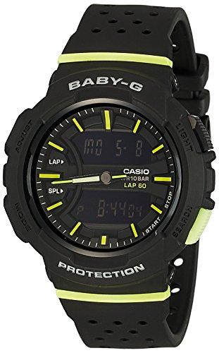 Casio Women's Baby G BGA240-1A2 Black Resin Japanese Quartz Diving Watch