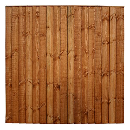 6ft x 6ft vertical feather edge fencing panels 18m x 18m pre treated uk delivery