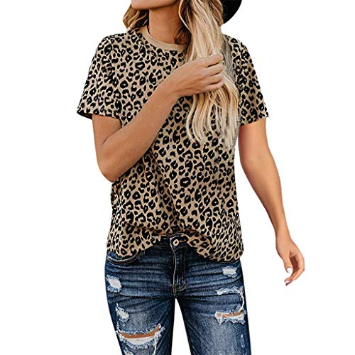 bd0c087ac2a4f5 Y56(TM) Women's Casual Cute Printed Short Sleeve T-Shirt - Womens Casual