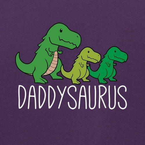 Daddy Saurus - Herren T-Shirt - 13 Farben Lila