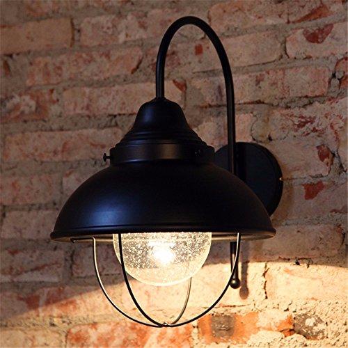 BOOTU Bougeoir LED et descendre appliques Kai est un mur de chevet chambre loft industriel léger vent Bar européen feux fer au-dessus de couloirs routiers, avec 5W Ampoule LED blanc chaud