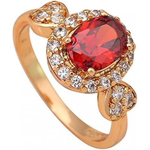 Bling Bling Bling Jewelry-Ciondolo con granato salute