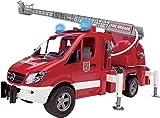 Bruder Mb Sprinter Feuerwehr, Inklusive Batterie - 45 X 17,2 X 21,8cm