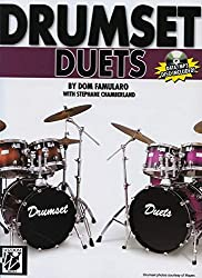 Drumset Duets: Book & CD-ROM