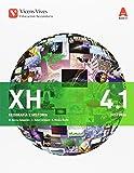 XH 4 (4.1-4.2) (XEOGRAFIA E HISTORIA) AULA 3D: Xeografía E Historia. Galicia. Libro 1 E 2. ESO 4: 000002 - 9788468236346