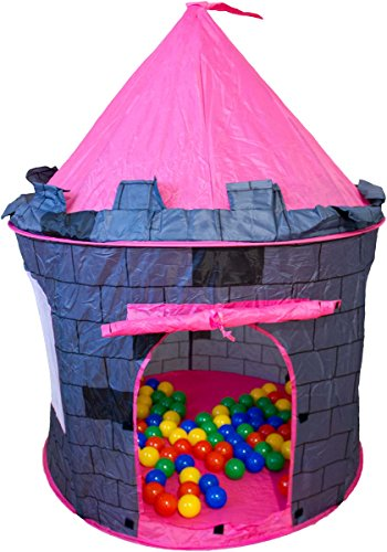 Bällebad Turm inkl. 100 bunte Bälle Spielzelt Babyzelt Bällebad