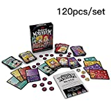 Image for board game Luckyx 120 Cards Dungeon Mayhem Dungeons & Dragons Card Game 2-4 Players 5 -10 Minute Dungeon Fun Card Game For Kids And Adults