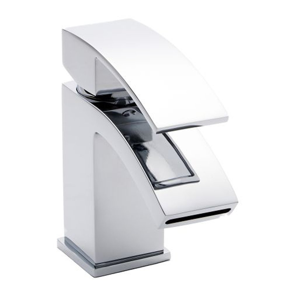 Home Standard® Bathroom Single Lever Chrome Mono Basin Sink Mixer ...