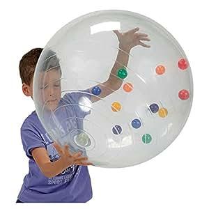 Gymnic - 96.02 - Ballon Géant - Activity Ball en transparent
