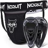 NOQUIT Premium Tiefschutz Herren Kampfsport - 2 unterschiedliche Cup Größen verfügbar - Sport Suspensorium/Tiefenschutz/Hodenschutz für Paintball, Eishockey, Handball, Muay Thai & MMA