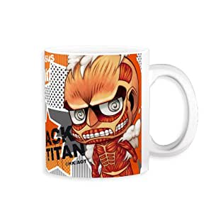 Attack on Titan Mug 4 super-sized giant (japan import)
