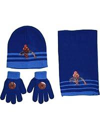 Spiderman Ensemble Echarpe Bonnet gants garcon