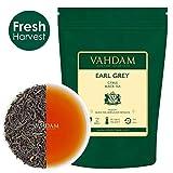 VAHDAM, foglie di tè Earl Grey imperiali (200 tazze) - Olio di bergamotto naturale al miscelato con tè nero fresco da giardino, floreale e agrumato, busta da 454gr, foglia verde fresca