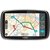 TomTom GO 6100 6 inch Sat Nav with World Maps (Sim Card and Unlimited Data Included) - Black