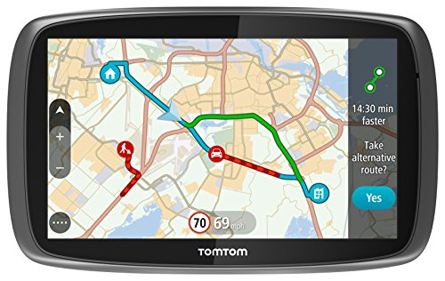TomTom GO 6100 6 inch Sat Nav with World Maps