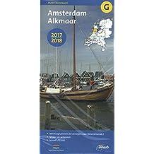 Waterkaart G Amsterdam Alkmaar 1:50.000