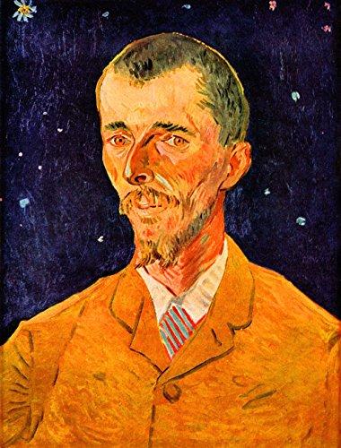 Das Museum Outlet-Portrait Of Eugene Boch by Van Gogh-Leinwand (61x 45,7cm)