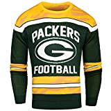 NFL Glow in the Dark Ugly im Dunklen leuchtender Pullover, unisex, Green Bay Packers