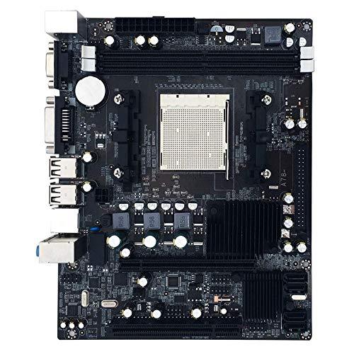 Dual Grafikkarte Mainboard (Mainboard, AMD A780 760G Mainboard Unterstützung AM2 + AM3 CPU PCI Express X16 Erweiterungssteckplätze Mainboard, Dual-Channel-DDR2)