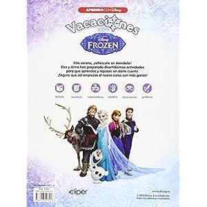 Vacaciones Con Frozen. 4 Años