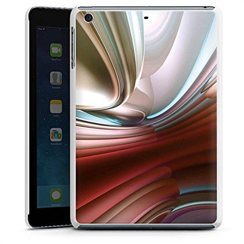 DeinDesign Apple iPad Mini 3 Hülle Schutz Hard Case Cover Chrom Muster Metall Chrom Hard Case