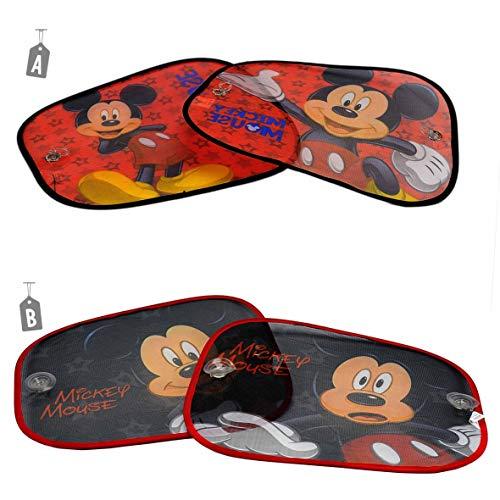 Due Esse s.r.l. Cortina Parasol para Coche Mickey