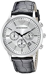 Emporio Armani Classic Analog Silver Dial Mens Watch AR2432