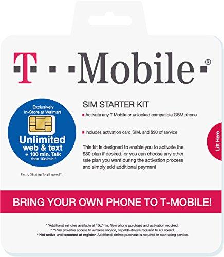 Prepaid SIM-Karte USA - 50GB Daten im 4G LTE - Anrufe und SMS - 30 Tage -