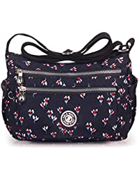 d4184b42f9 ABLE Women Anti Splash Water Shoulder Messenger Crossbody Bags