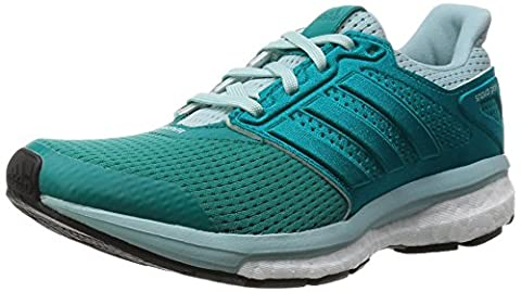 adidas Supernova Glide 8, Women's Running Shoes, Eqt Green/Clear Green, 5.5 UK