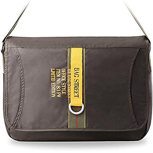 Grande borsa Bag Street zaino borsa da lavoro borsa per il tempo libero–borsa a tracolla marca uomo cachi