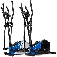 Preisvergleich für Elliptical Crosstrainer MX400 Nordic Walking Ellipsentrainer belastbar bis 120 kg Pulssensoren 8 Widerstandsstufen Schwungmasse 10 kg