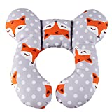 Baby Neck Support Pillow, KAKIBLIN Infant Travel Pillow for Car Seat, Pushchair