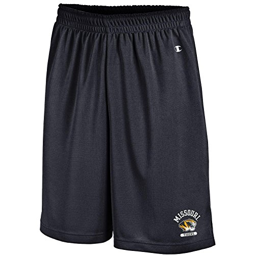 Champion NCAA Herren Classic Team Mesh Short, Herren, NCAA Men's Classic Team Mesh Short, schwarz, Large -