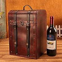 Preisvergleich für Vintage Wein Holzkiste, Vintage Geschenkbox - 4Er Pack