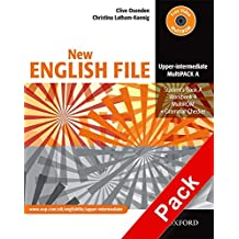 New english file upperint multipack: Student's Book A, Workbook A and a MultiROM (CD) + Grammar Checker: MultiPACK A Upper-intermediate l (New English File Second Edition)