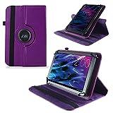 UC-Express Tasche Hülle Cover für Medion Lifetab S10321 Schutz Case Tablet Schutzhülle Bag, Farben:Lila