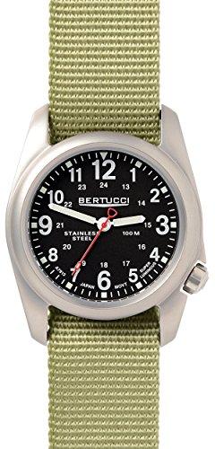 Bertucci 11066Unisex Patrol in nylon verde quadrante nero smart watch
