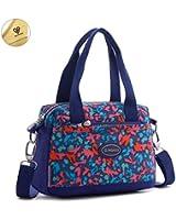 Tiny Chou Lightweight Waterproof Nylon Top-handle Crossbody Handbag Sport Shoulder Bag for Girls