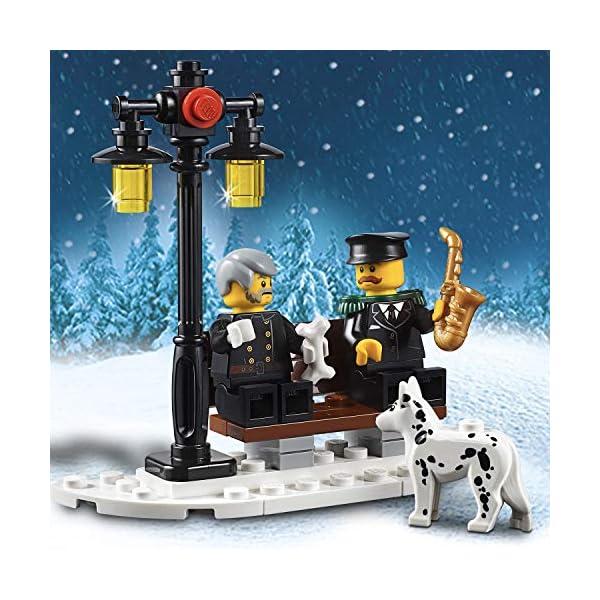 LEGO 10263 Creator Expert Winter Village Fire Station, Stazione dei vigili del fuoco per bambini 5 spesavip