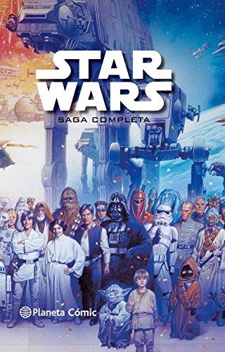 Las adaptaciones en cómic de toda la saga cinematográfica en un solo volumen. Desde el predestinado encuentro entre Qui-Gon Jinn y Obi-Wan con Darth Maul hasta la victoria de Luke Skywalker contra los Sith y la redención de Darth Vader, todo incluido...