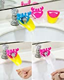 #10: SYGA 2 Piece Faucet Sink Handle Extender for Children-Baby Bathroom Accessory, Excellent Hand Washing Guide Faucet for Home
