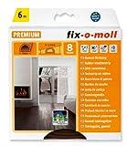 fix-o-moll D-Profildichtung 6 m 6 x 9 mm selbstklebend braun